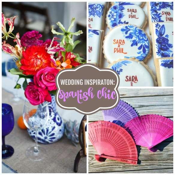 Wedding Inspiration Spanish Chic Colorful Hacienda Style Wedding