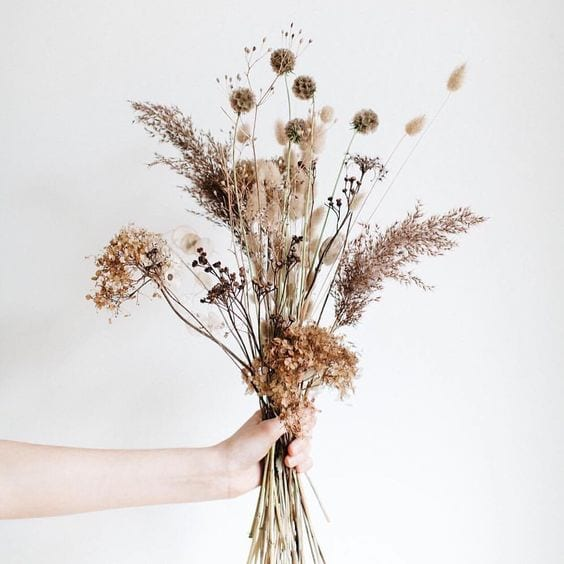 They Re Back Dried Flowers Are Trending For Weddings In 2020 The Gilded Gown