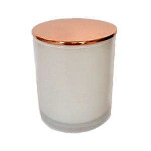 White Candle Glass