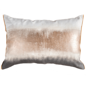 Palam Rose Gold Lumbar Cushion