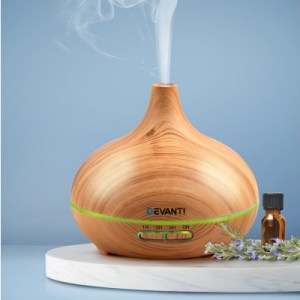 Light Wood 4 in 1 Aroma Diffuser