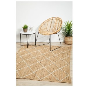 Noosa 222 Rectangle Jute Floor Rug
