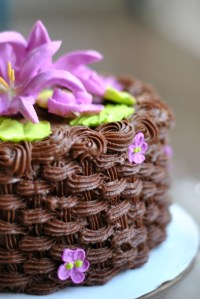 Icing Basket Weave Tutorial