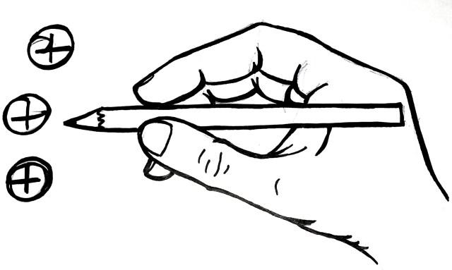 tenere in mano la matita - TheGiornale.it