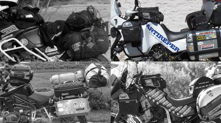 la valigia perfetta del motociclista