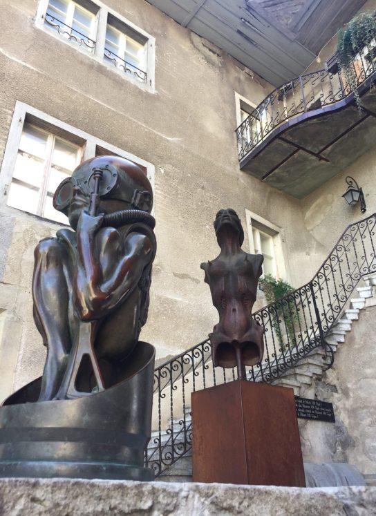 Giger museum Gruyères
