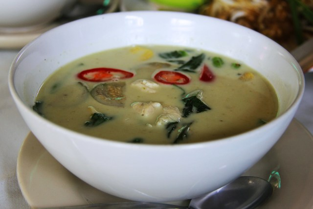 Curry verde - Cucina Thailandese