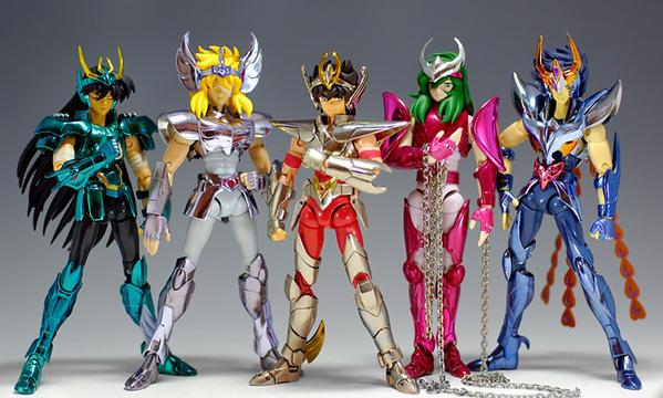 Cavalieri dello Zodiaco - giocattoli che hanno segnato gli anni 90