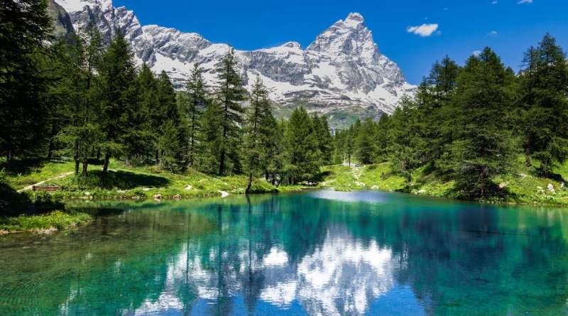 Lago blu Cervino - TheGiornale