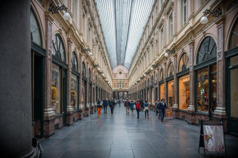 Saint-Hubert Galleries Bruxelles