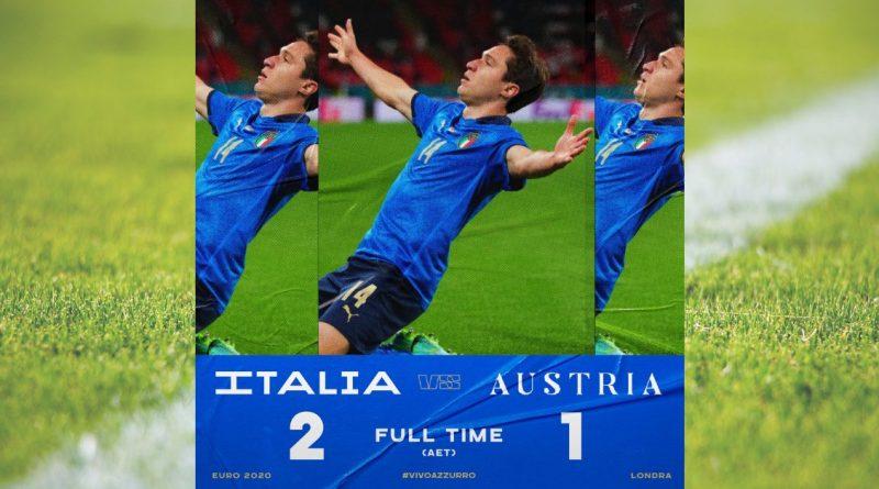Italia Austria Europei 2020