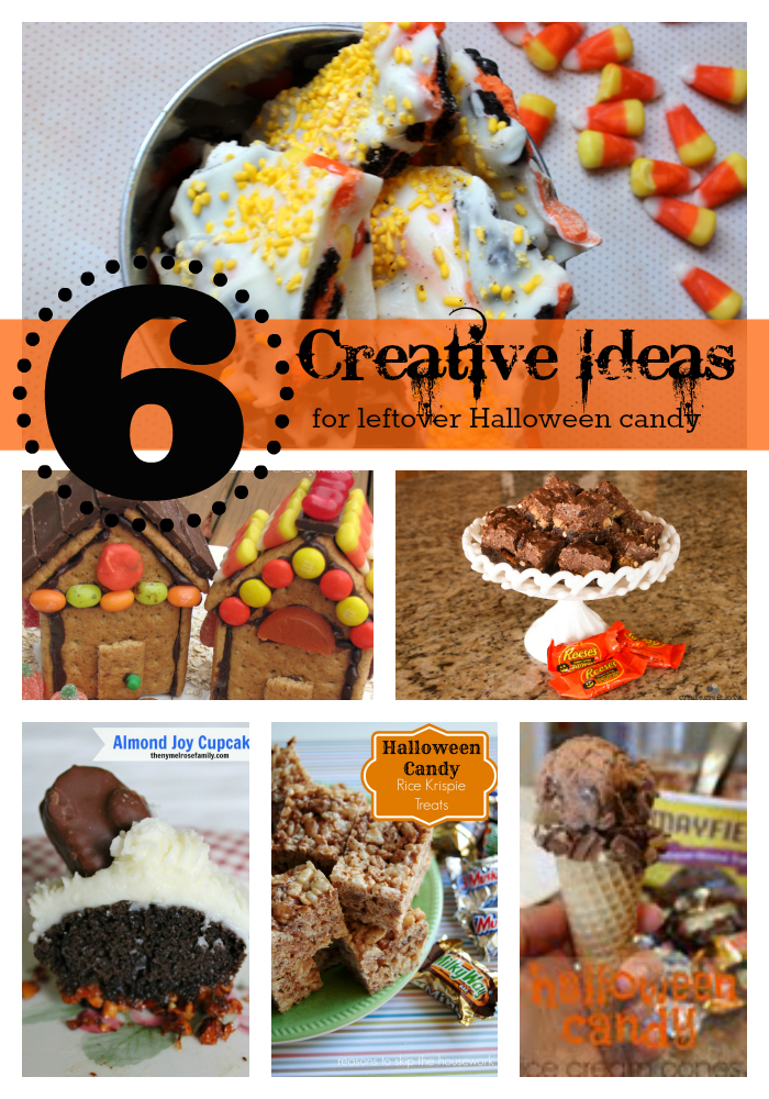 Creative Ideas for using up Leftover Halloween Candy
