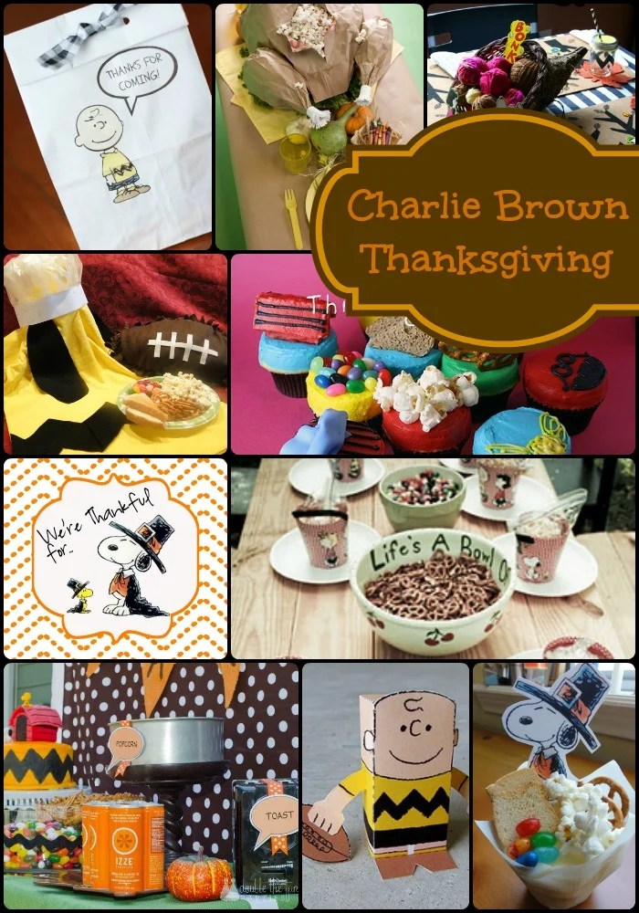 How To Host A Charlie Brown Thanksgiving Party The Girl