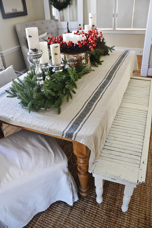Rustic Christmas Decorating Ideas The Girl Creative