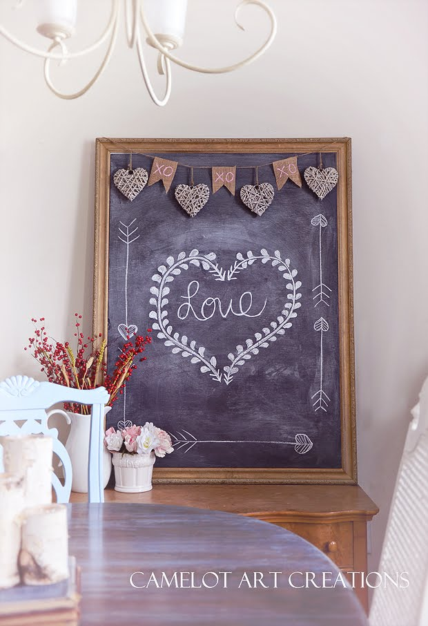 Rustic Decorating Ideas For Valentines Day The Girl