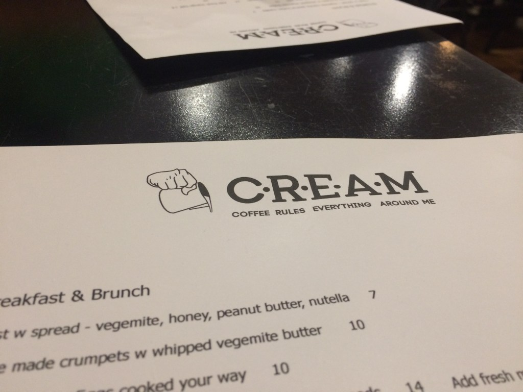C.R.E.A.M: Coffee in Adelaide