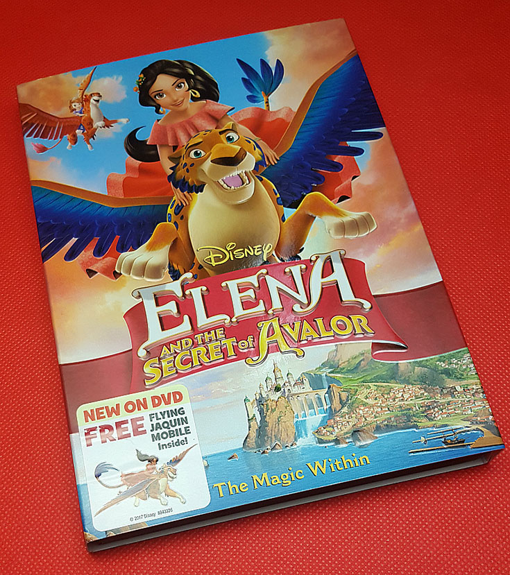 Disney Elena and the Secret of Avalor The Magic Within DVD Giveaway