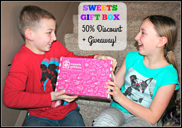 Sweets Gift Box Subscription Giveaway