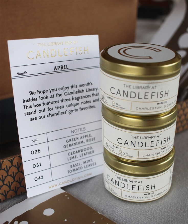 Candlefish Library Box Giveaway