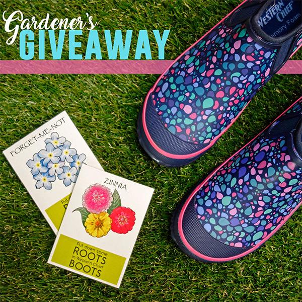 Gardener's Giveaway - WIN Clogs & More!