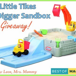 Little Tikes Big Digger Sandbox Giveaway