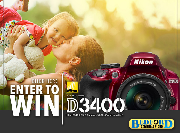 Nikon D3400 Camera Kit Giveaway