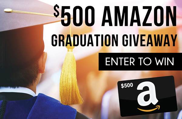 $500 Amazon Graduation Giveaway