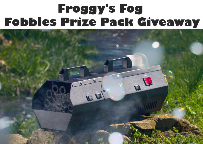 Fobbles F2 Bubble Fogger Machine Giveaway