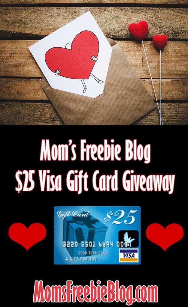 $25 Visa Gift Card Giveaway (Ends 06/11)