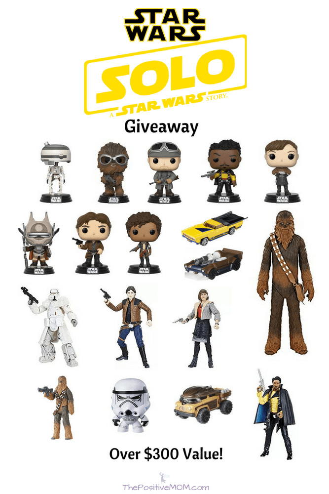 Solo Star Wars $300 Prize Pack Giveaway