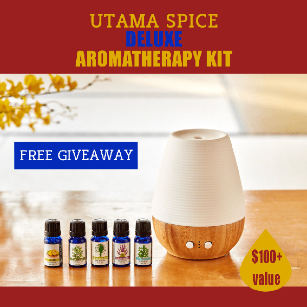 Utama Spice Deluxe Aromatherapy Kit Giveaway