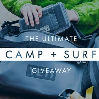 The Ultimate Camp and Surf Giveaway
