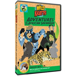 Wild Kratts: Adventures on the African Savannah DVD Giveaway