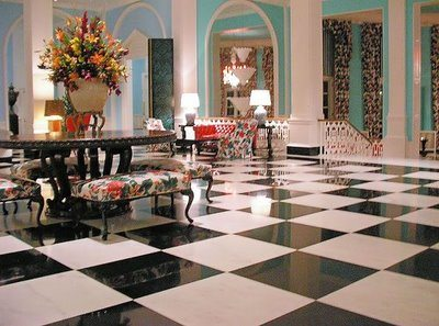 all hail dorothy draper the duchess of decorating the glam pad. Black Bedroom Furniture Sets. Home Design Ideas