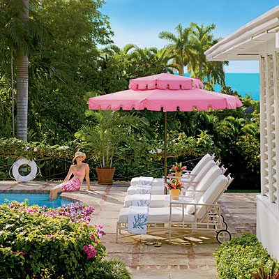 From Slim Aarons To Meg Braff This Pool Umbrella Is Pure