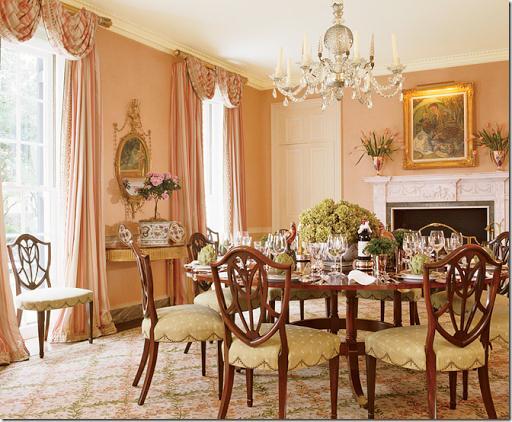 BONUS: Mary McDonald - 14 Romantic Pink Dining Rooms