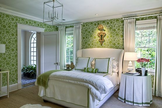 Bedroom Designs Green And White 50 gorgeous green and white bedrooms