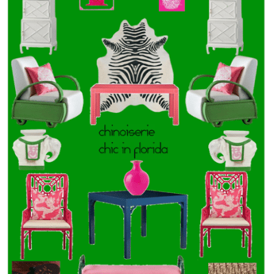 Chinoiserie Chic in Florida: The Porch