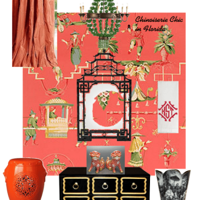 Chinoiserie Chic in Florida: The Powder Room
