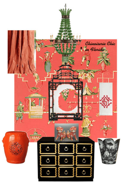 Chinoiserie Chic In Florida The Powder Room The Glam Pad