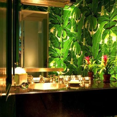 Brazilliance in the Bathroom!