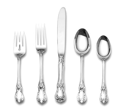 The 40 Patterns Of The Southern Silver Zodiac The Glam Pad Adorable Sterling Silver Flatware Patterns Identification