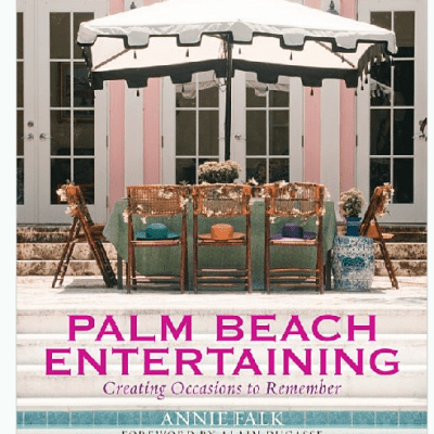 Palm Beach Entertaining, Mario Buatta, and a Pagoda Pool House