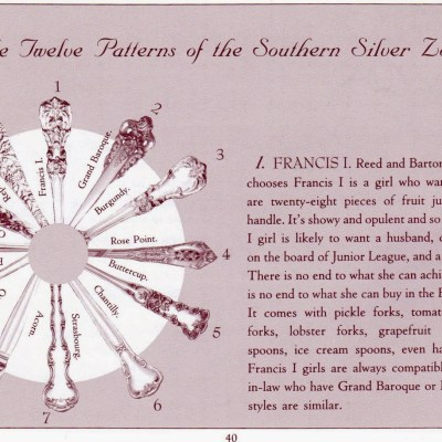 The 12 Patterns of the Southern Silver Zodiac