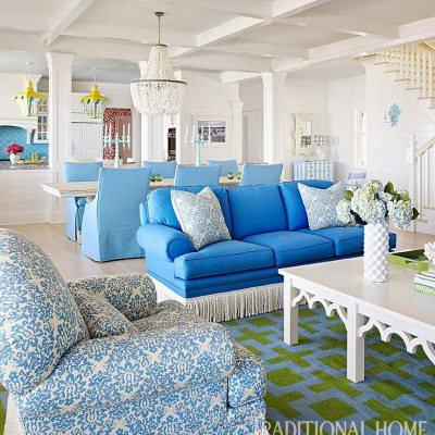 A Vibrant Family Lake Home