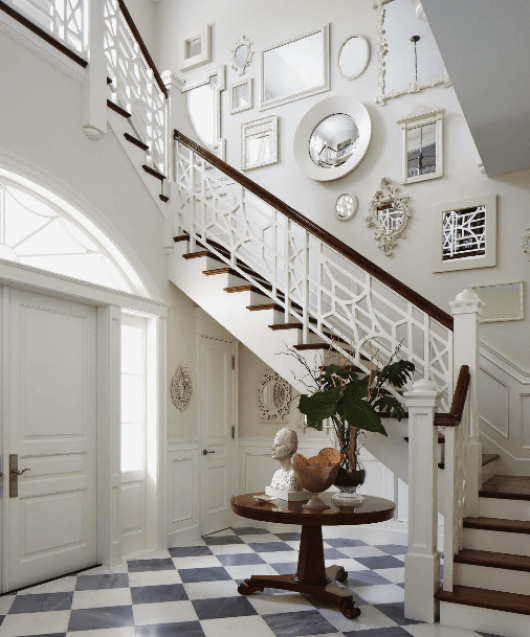 A Blue And White Regency Bermuda In Palm Beach The Glam Pad