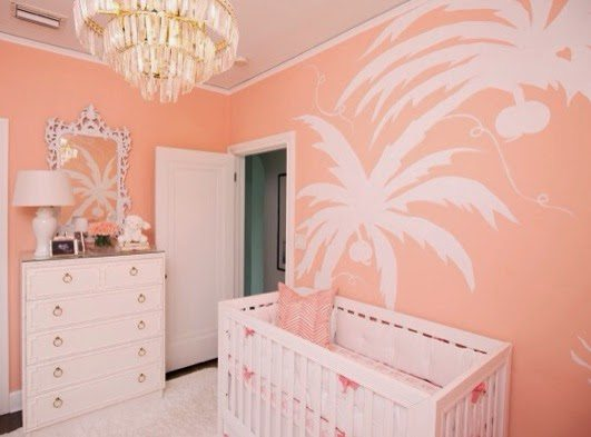 Perfect The crib is from Walmart Bedding is from Serena u Lily and Pottery Barn Kids