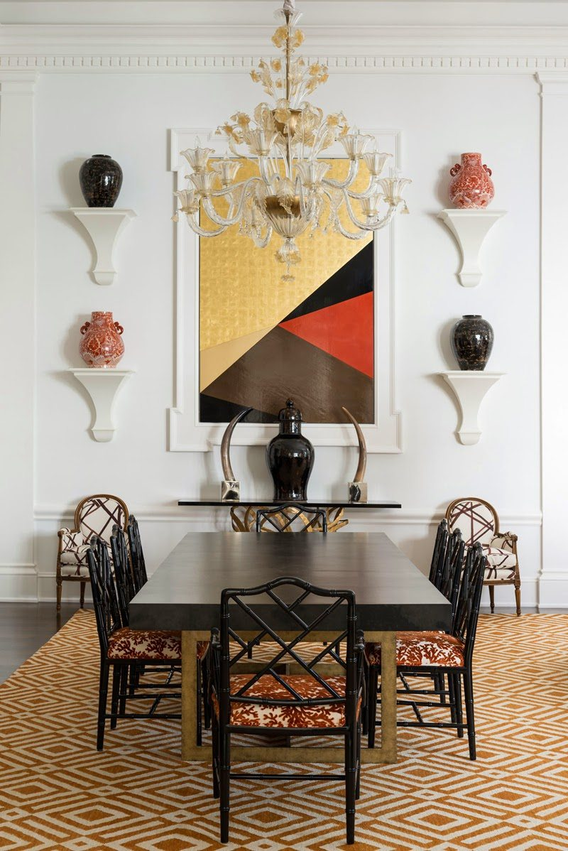 Perfect They created a white canvas of surfaces to serve as a backdrop to colorful accents furniture and art The results are stunning