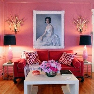 14 Pink Rooms for Valentine's Day