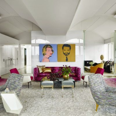 Thinking Pink: A Palm Beach Penthouse